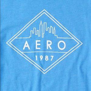 Aeropostale Shirts - Diamond Skyline Graphic Tee